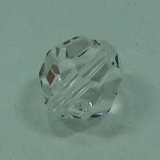 Schliffperle rund crystal