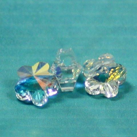 Blumenschliffperlen crystal AB