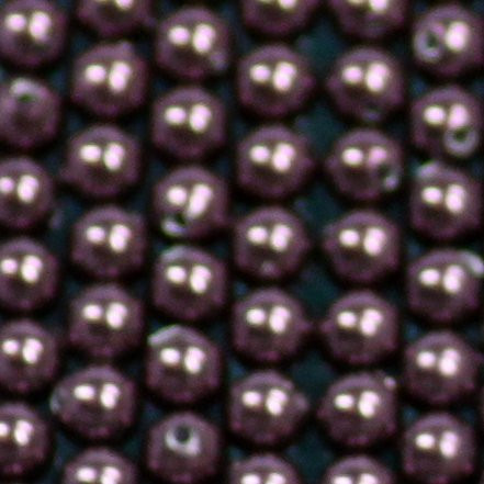 Crystal Pearls burgundy