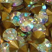 Strass-Steine crystal AB