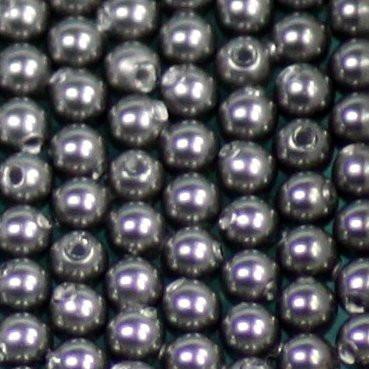 Crystal Pearls dark grey