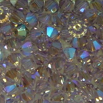 Doppelkegel light amethyst AB2x