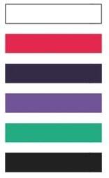 Stretchband Farbskala