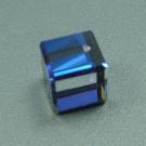 Kristallwürfel crystal Bermuda Blue