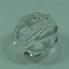 Schliffperle crystal 3kantige Facetten