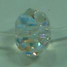 Spacer Briolette crystal AB