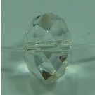Spacer Briolette 18mm crystal Großloch