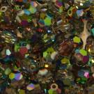 Schliffperlen rund crystal Vitrail Medium