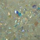 Schliffperlen rund crystal AB