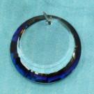 Scheibchen crystal Bermuda Blue Z