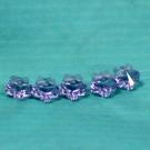 Blumenperlen 6mm violet