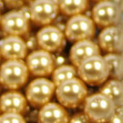 Crystal Pearls bright gold