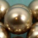 Wachsperlen bronze