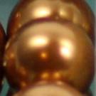 Wachsperlen copper