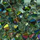 Doppelkegel 3mm crystal Vitrail Medium
