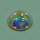 Cabochon crystal AB