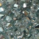 Doppelkegel 3mm crystal CAL