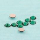 Flatbacks emerald