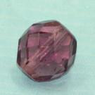 Glasschliffperle amethyst