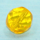 Glasschliffperle gelb