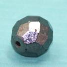 Glasschliffperle hematit