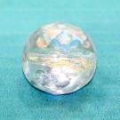 Glasschliffperle 11mm kristall AB