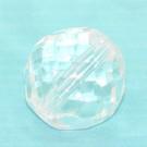 Glasschliffperle kristall