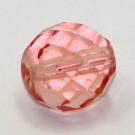 Glasschliffperle rosalin