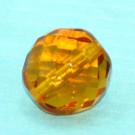 Glasschliffperle topas