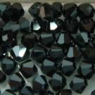 Doppelkegel jet Hematite 2x
