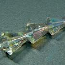 Kegelschliffperlen crystal AB