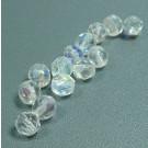 Glasschliffperlen kristall AB
