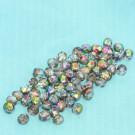 Glasschliffperlen kristallRegenbogen