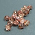 Glasschliffperlen Kupferglanz