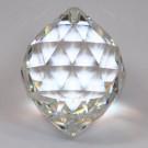 Kugel crystal 2Loch