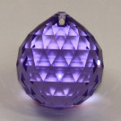 Strass-Kugel violet Feinschliff