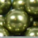 Crystal Pearls light green