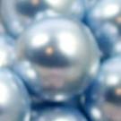 Wachsperlen light blue