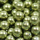 Crystal Pearls light green