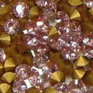 Strass-Steine light rose gold-foiled