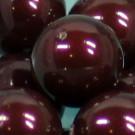 Crystal Pearls maroon