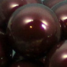 Wachsperlen maroon