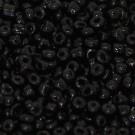 Minirocaille opak schwarz
