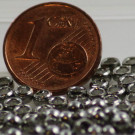 Quetschperlen 3mm platiniert 1 Gramm