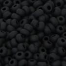 Rocaille matt schwarz