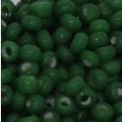 Rocaille opak grün