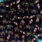 Rocaille 05/0 amethyst mit Silbereinzug