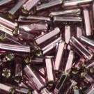 Glasstifte amethyst mit Silbereinzug