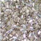 Glasstifte kristall mit Silbereinzug