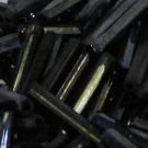Glasstifte opak schwarz hematit